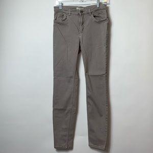 LOGG L.O.G.G. H&M size 10 Gray Skinny Jeans